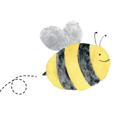 Valentine's Day Printable Card: Bee My Valentine