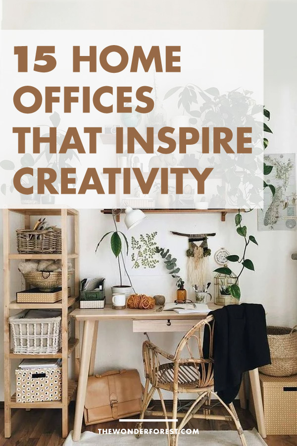 15 Home Offices to Inspire Your Creativity