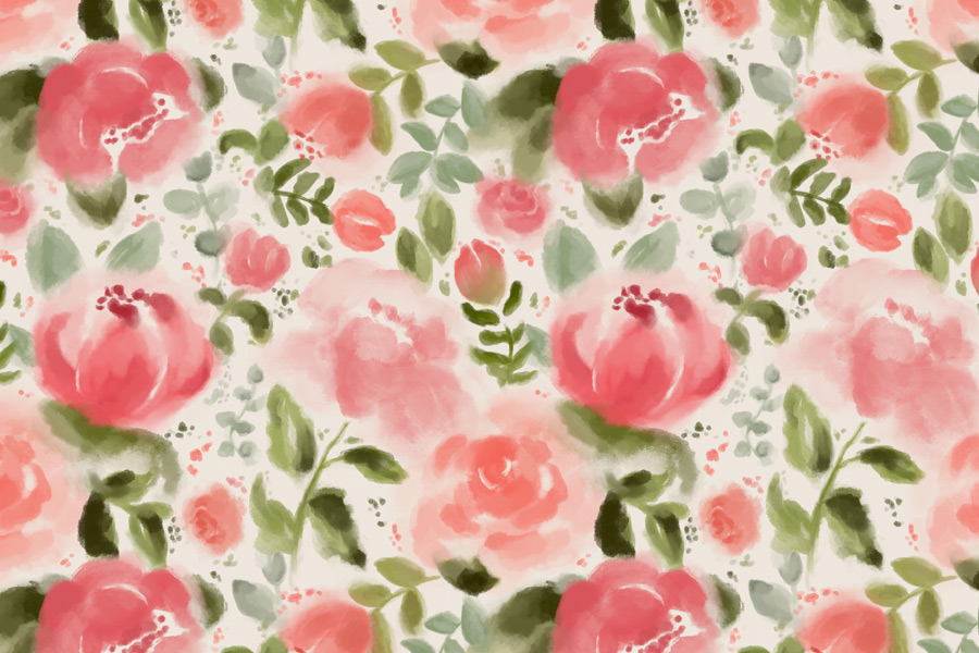 How to Create a Seamless Repeating Pattern in Procreate