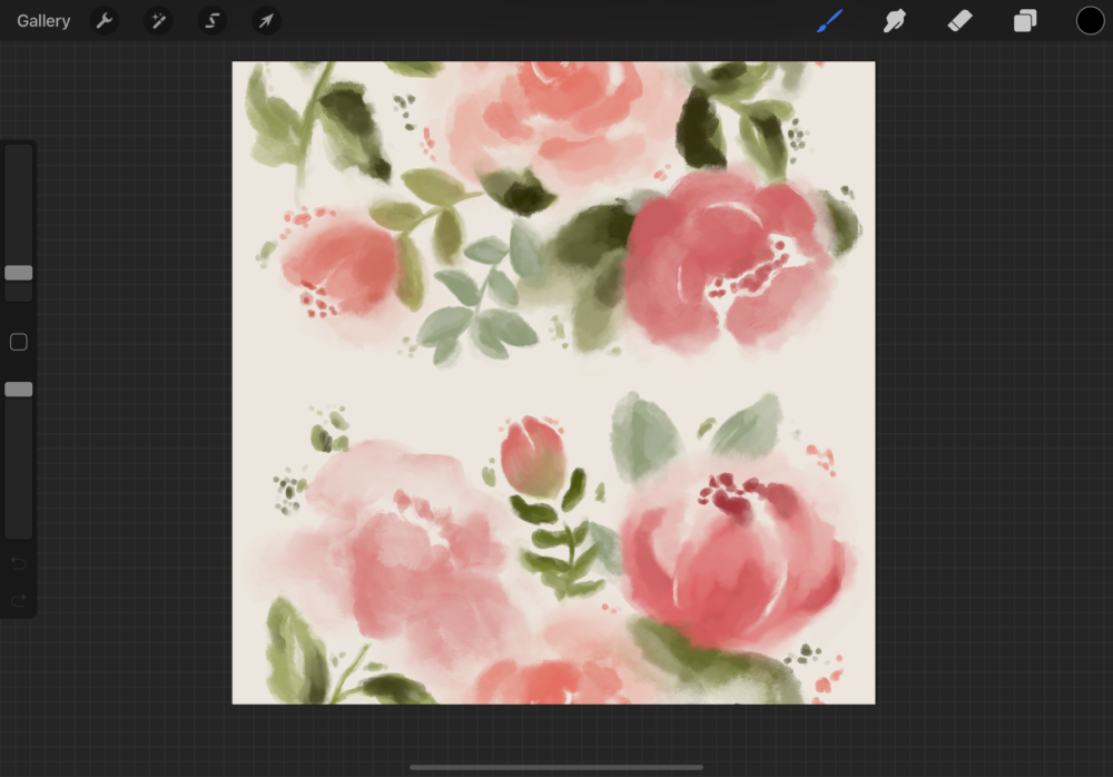 How to Create a Repeating Seamless Pattern in Procreate