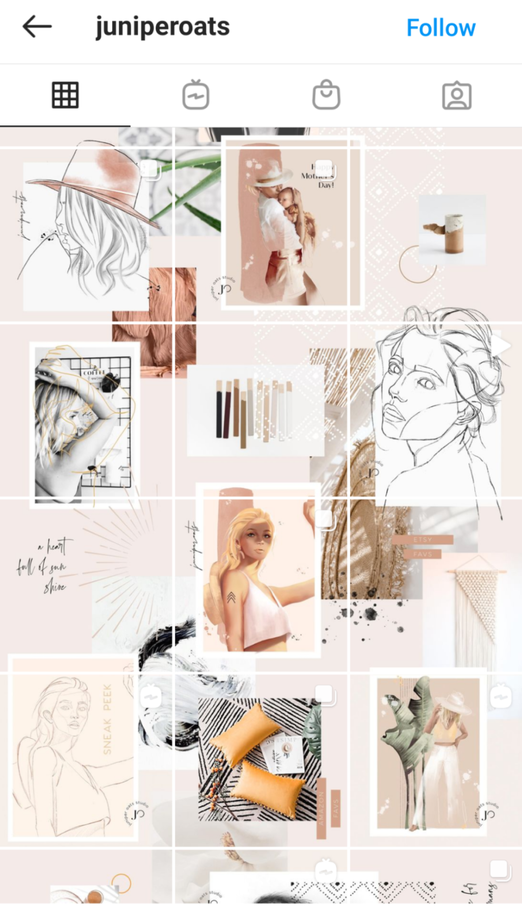 10 Creative Photo Grid Ideas for Instagram