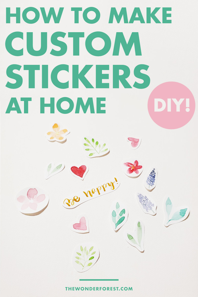 DIY: How to Make Custom Stickers at Home