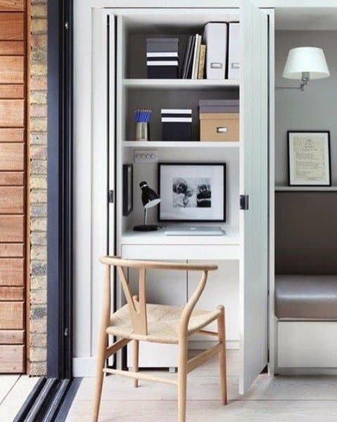 Tips and Tricks for Creating a Cloffice - AKA a Closet Office