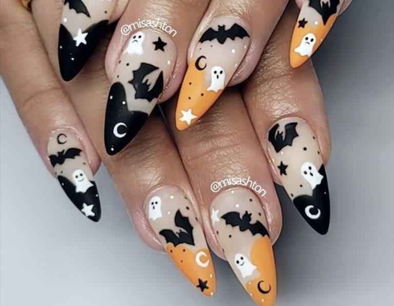 15 Halloween Themed Nail Design Ideas